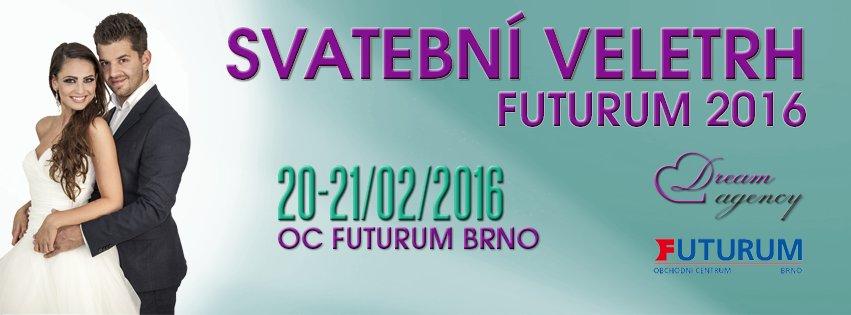 Svatební veletrh Futurum Brno 20-21.2.2016